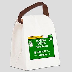 RV RESORTS -CALIFORNIA - MARINA D Canvas Lunch Bag