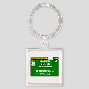 RV RESORTS -CALIFORNIA - MARINA DUNES - Keychains