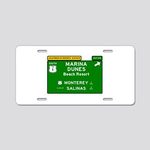 RV RESORTS -CALIFORNIA - MA Aluminum License Plate