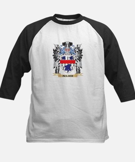 Mulder Coat of Arms - Family Crest Baseball Jersey