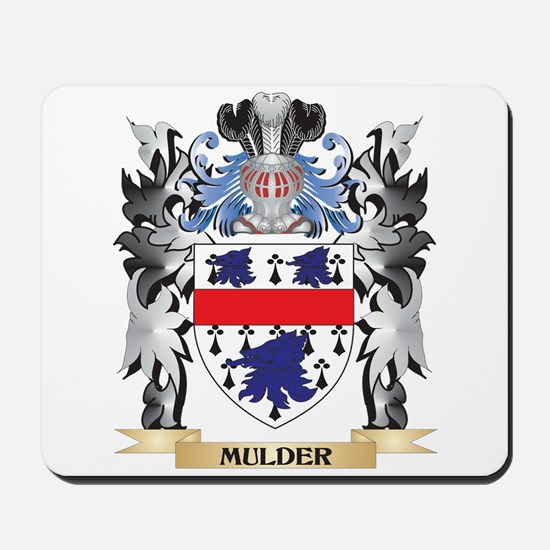 Mulder Coat of Arms - Family Crest Mousepad