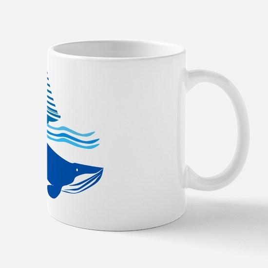 Whale And Jonah Mugs