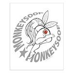 Monkeysoop Faery Small Poster