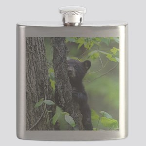 Black Bear Cub Flask
