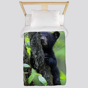 Black Bear Cub Twin Duvet