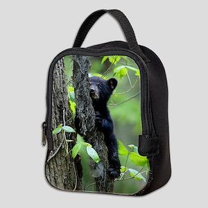Black Bear Cub Neoprene Lunch Bag