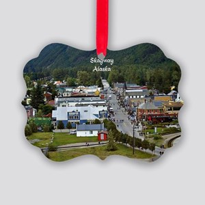 Skagway, Alaska scenic photo Picture Ornament