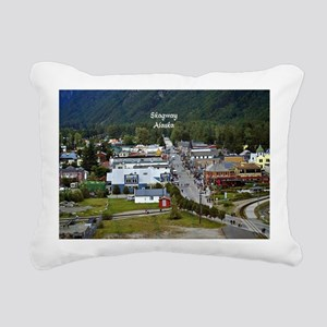 Skagway, Alaska scenic p Rectangular Canvas Pillow