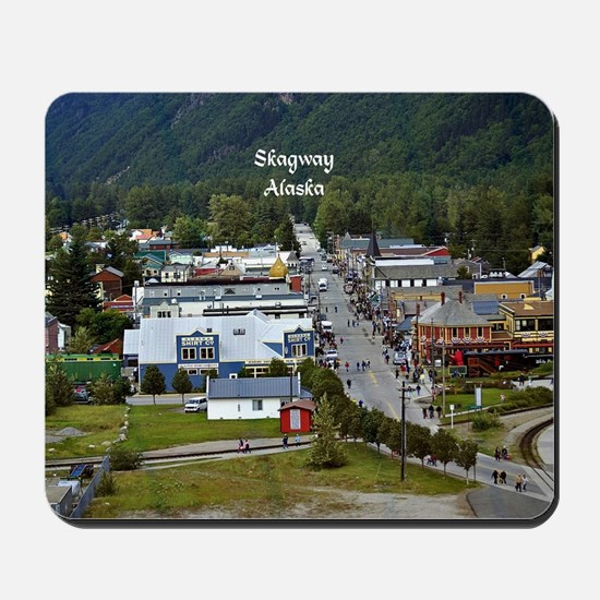 Skagway, Alaska scenic photo Mousepad
