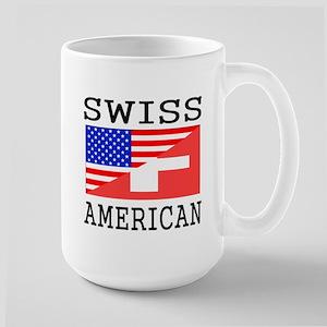Swiss American Flag Mugs