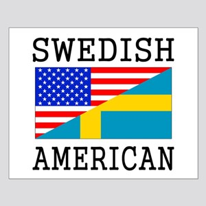 Swedish American Flag Posters