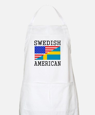 Swedish American Flag Apron