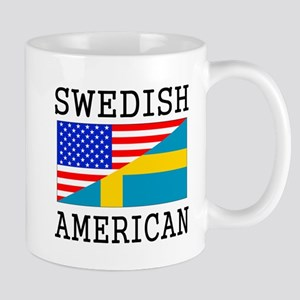 Swedish American Flag Mugs