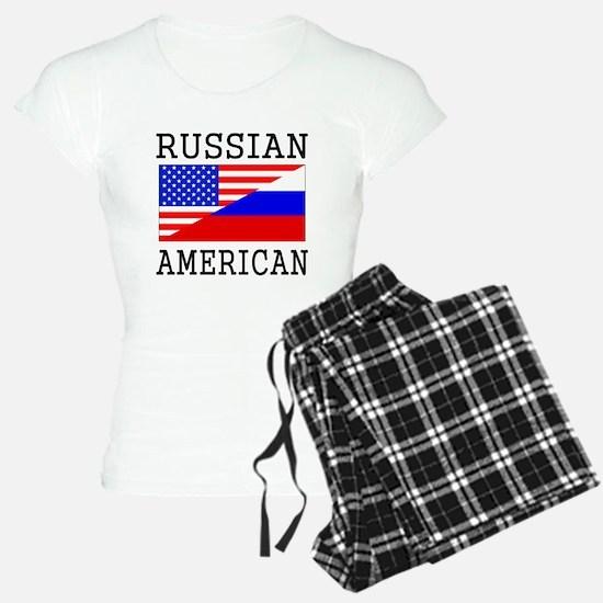 Russian American Flag Pajamas