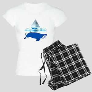 Whale and Jonah Pajamas