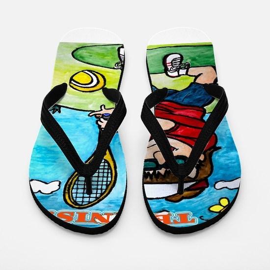 Tennis! Flip Flops
