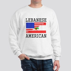 Lebanese American Flag Sweatshirt