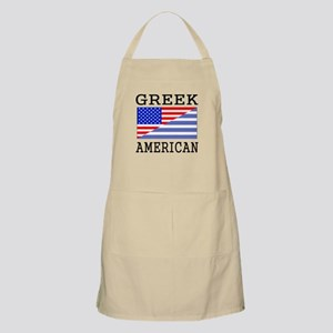 Greek American Flag Apron