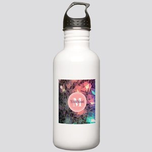Colorful Mosaic Patter Stainless Water Bottle 1.0L