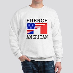 French American Flag Sweatshirt