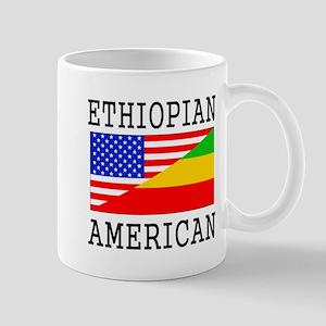Ethiopian American Flag Mugs