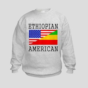Ethiopian American Flag Sweatshirt