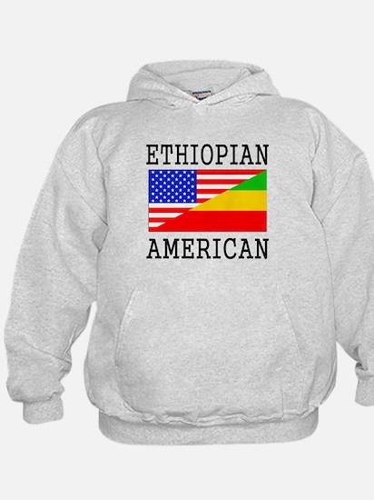 Ethiopian American Flag Hoodie