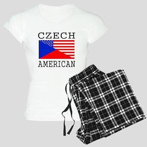 Czech American Flag Pajamas