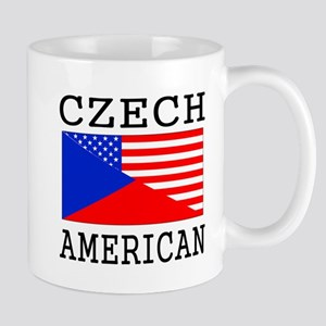 Czech American Flag Mugs