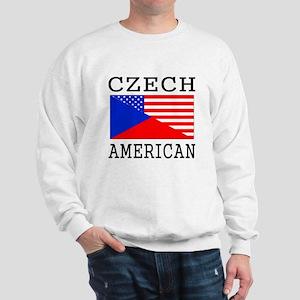 Czech American Flag Sweatshirt