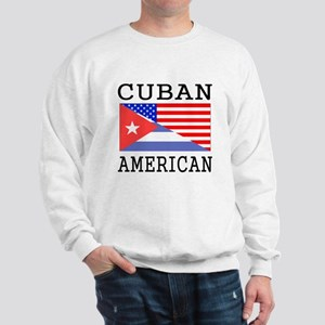 Cuban American Flag Sweatshirt