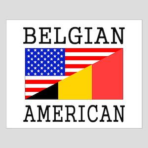 Belgian American Flag Posters