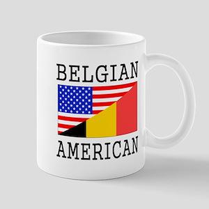 Belgian American Flag Mugs