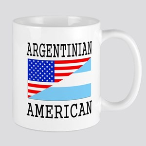 Argentinian American Flag Mugs