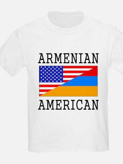 Armenian American Flag T-Shirt