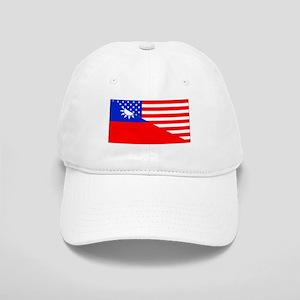 Taiwanese American Flag Baseball Cap