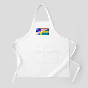 Swedish American Flag Apron