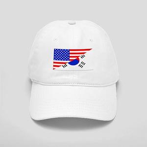 Korean American Flag Baseball Cap