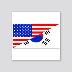 Korean American Flag Sticker