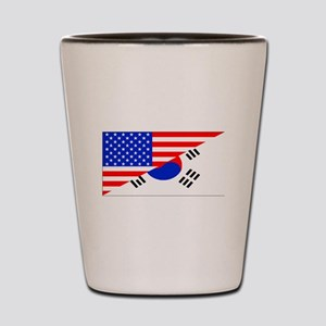 Korean American Flag Shot Glass
