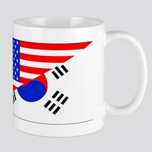 Korean American Flag Mugs