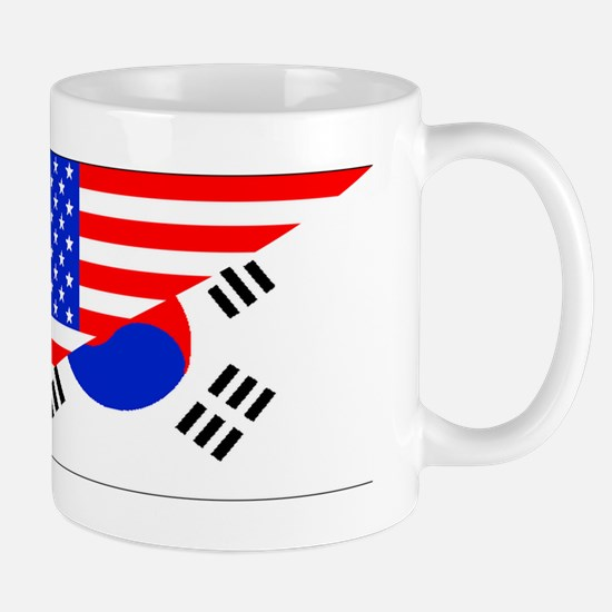 Korean American Flag Mugs