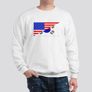 Korean American Flag Sweatshirt