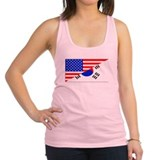 Korean Womens Racerback Tanktop