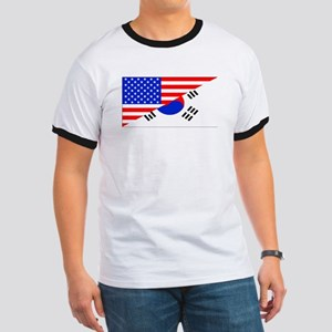 Korean American Flag T-Shirt