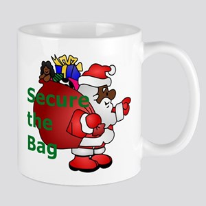 secure the bag santa Mugs