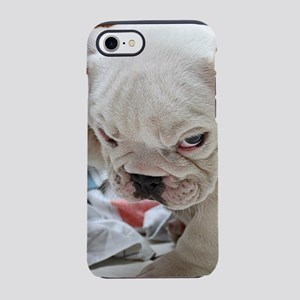 Funny English Bulldog Puppy iPhone 8/7 Tough Case