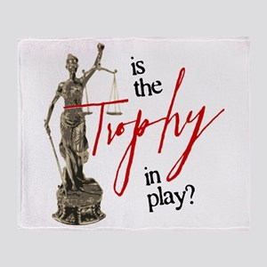 Is the Trophy In Play? Stadium Blanket