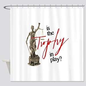 Is the Trophy In Play? Shower Curtain