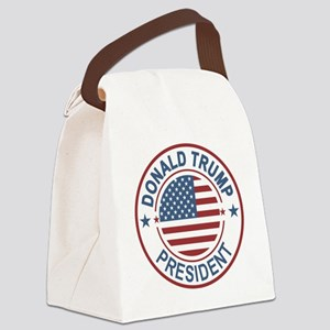 WOW! Trump President Canvas Lunch Bag